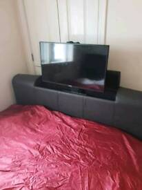 Kingsize tv bed (mattress and tv not included) £200ono