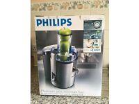 Philips juicer HR1861 700 W, Aluminium, in excellent condition