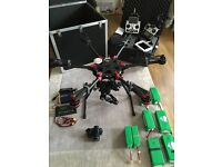 DJI Spreading Wings S900 - Complete Setup including Panasonic GH4 and Training.