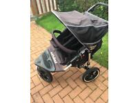 Out n about nipper double buggy