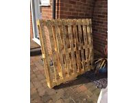 2 x Wooden Pallets - Fairly New