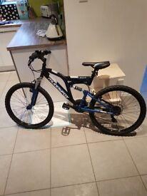 Muddyfox full suspension mountain bike 24 inch