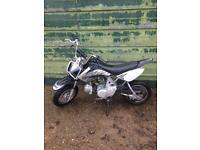 White knuckle 70cc pitbike