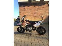 70cc Slam kids pitbike - AS NEW - SEMI AUTO