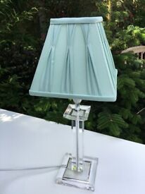 Vintage Duck Egg Blue Small Table Lampshade