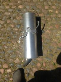 Exhaust Silencer for a Peugeot