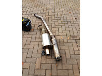 "Solid Fabrications 3"" exhaust - helped make 270bhp - Civic EP3 Type-R K20a2"