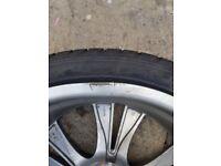 20inch Vauxhall insignia alloys