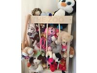 """The Zoo"" soft toy storage"
