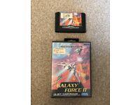 Sega Mega Drive Game Galaxy Force