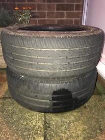 Spare Car Tyres