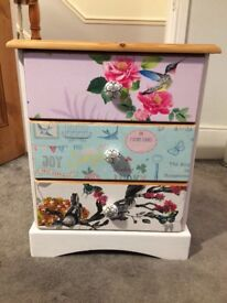 Gorgeous upcycled drawers