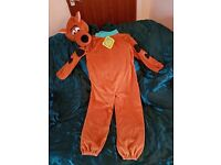 FANCY DRESS - SCOOBY DOO COSTUME 5-7 YEARS