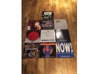 Selection Of compilation vinyl