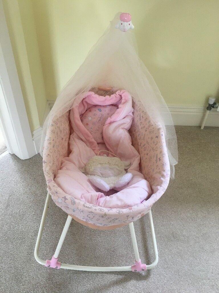 Baby Annabell rocking crib bed | in Chippenham, Wiltshire ...