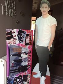 Life size Niall and large one direction canvas