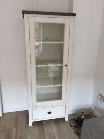 Shabby Chic Glass Cabinet, from Homebird