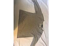new look plain stripy top