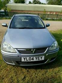Vauxhall corsa 1.2 Design a/c only 34,623 miles