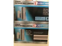 External wall lights