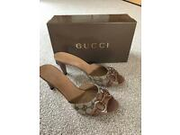 Gucci sandals size 6