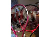 2 x Tennis Rackets (Excellent Condition)