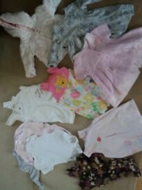 0-3 month girls bundle