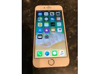 Iphone 6s unlocked Rose gold colour 64GB