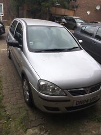 Vauxhall Corsa 1.2l with new mot - fault