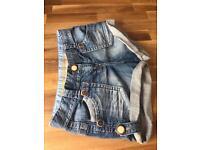 NEXT Classic Denim Shorts Size 12