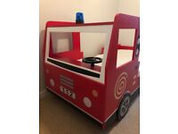 **SOLD** Kids Fire Engine Single Bed in immaculate condition - great for Christmas!