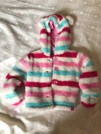 Joules Baby Girl coat 3-6m