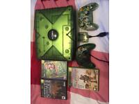Limited edition green Xbox bundle