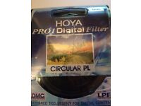 Hoya 52mm Circular Polarising Filter