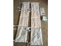 Mothercare bumpers & bunting