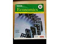 OCR A2 Economics 2nd edition textbook - RRP £21