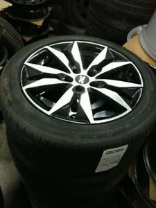Used 235 45 18 Michelin XIce on OEM CHevy Malibu alloy rims 5x115 / TPMS