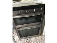 NEF double oven - fan oven and grill