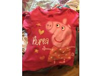 Large Bag Of Girls Summer Clothes Age 3-4.