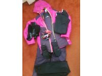 Complete Girls Skiing Gear Age 14
