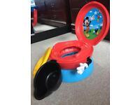 Disney potty with music