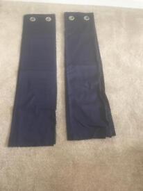 Navy blue next curtains
