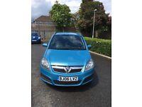 ++1.6 cheap 7 seater Vauxhall zafira +++