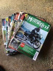 25 issues Classic MotorCycle magazine
