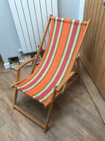 Vintage/Retro Deck Chair