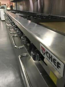 SIX BURNER OVEN 4 BURNER OVEN AND FLAT GRILL COMBO OVENS - COOKING EQUIPMENT ON SALE