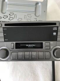 Subaru Imprezza Radio (56 Plate)