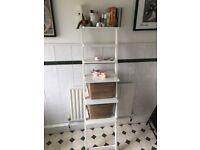 Ikea Hjalmaren wall shelf white Ladder shelves