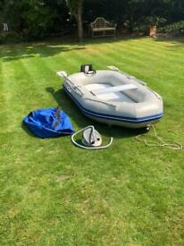 Mailspeed 230 Inflatable Dinghy Tender Boat Rib NEW