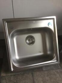 Stainless steel sink - new and unused